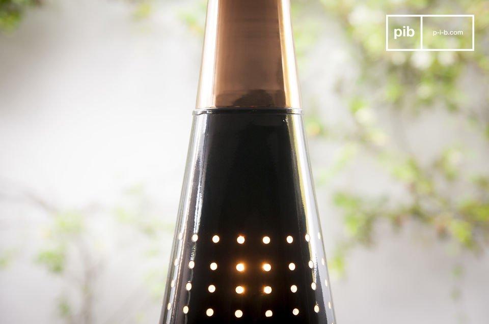 La lámpara colgante Balero es un hermoso artículo que le dará a su cálida luz interior y