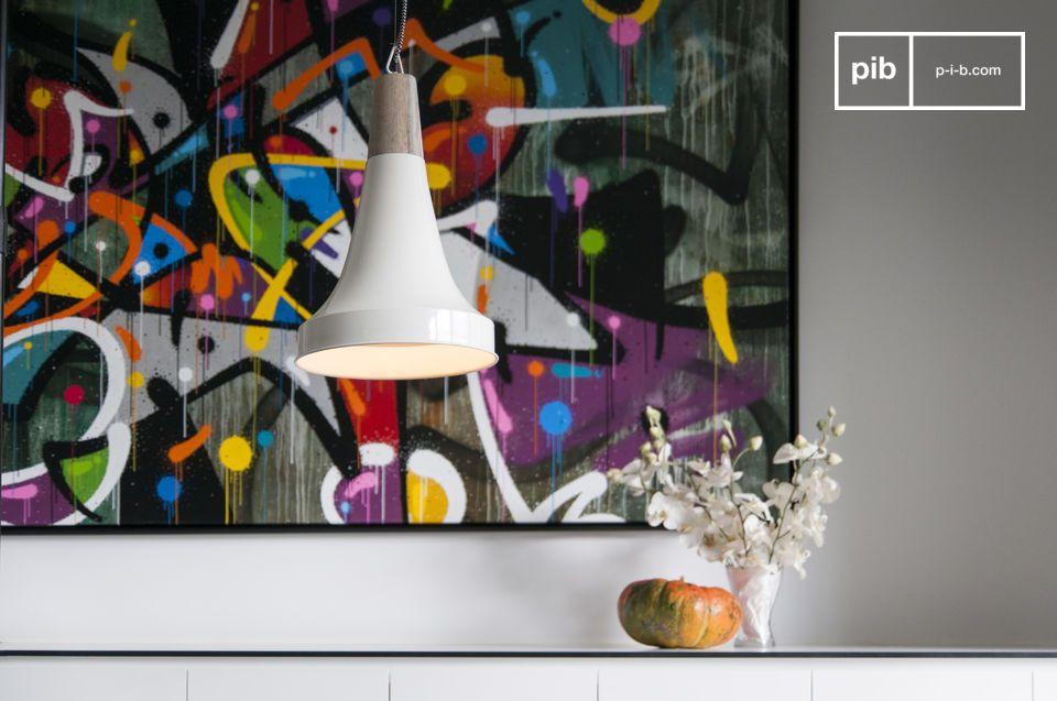 Una lámpara que hará que su interior brille con un toque escandinavo