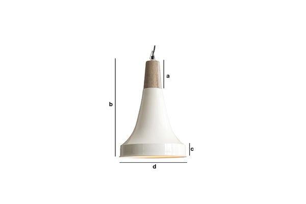Dimensiones del producto Lámpara colgante Balissö
