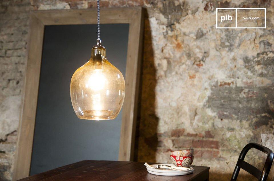 La lámpara colgante Belvedere es un artículo con una belleza especial que se podrá apreciar a