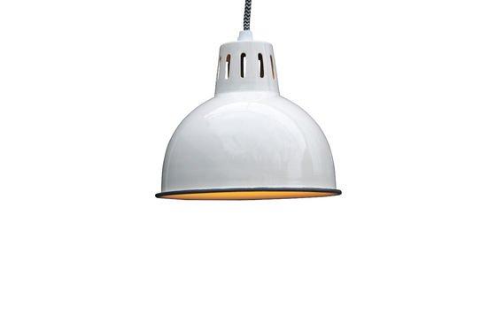 Lámpara colgante blanca Snöl Clipped