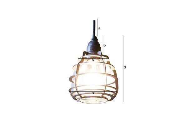 Dimensiones del producto Lámpara colgante Bristol