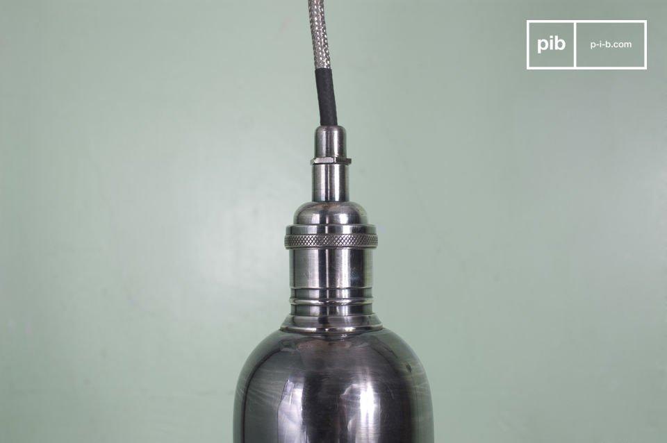 Lámpara de suspensión pequeña de 8 cm de diámetro