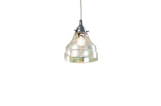 Lámpara colgante con vidrio en forma de cono Clipped