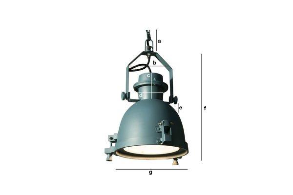 Dimensiones del producto Lámpara colgante de aceite Spitzmüller