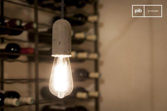 Lámpara colgante de cemento NUD