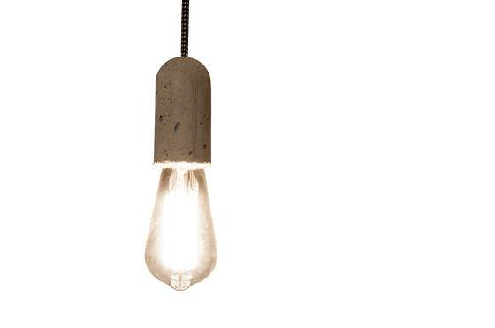 Lámpara colgante de cemento NUD Clipped