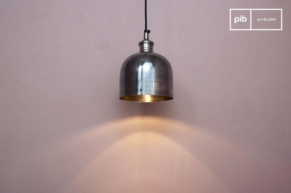 Lámpara colgante de níquel