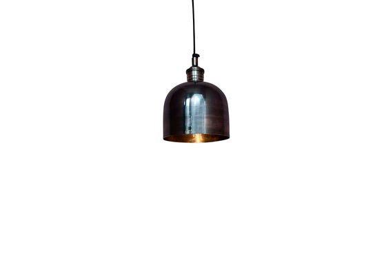 Lámpara colgante de níquel Clipped