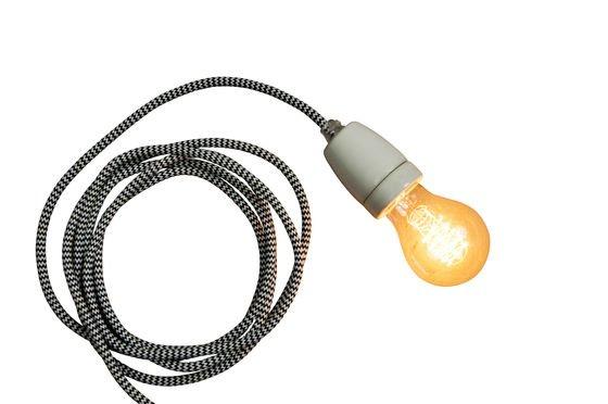 Lámpara colgante de porcelana NUD Clipped