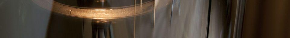 Descriptivo Materiales  Lámpara colgante de vidrio Elixir