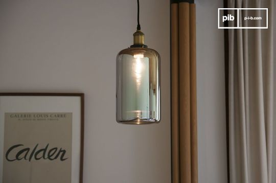 Lámpara colgante de vidrio Elixir