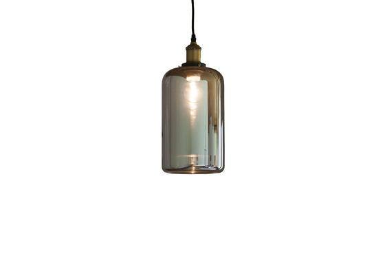 Lámpara colgante de vidrio Elixir Clipped