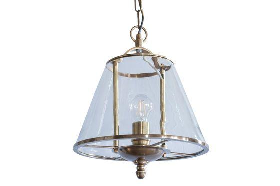 Lámpara colgante de vidrio Lacanau Clipped