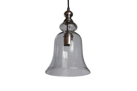 Lámpara colgante de vidrio Sweet Bell Clipped