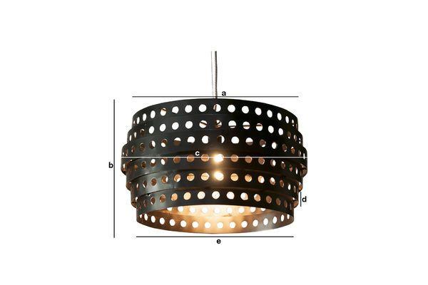 Dimensiones del producto Lámpara colgante Folane