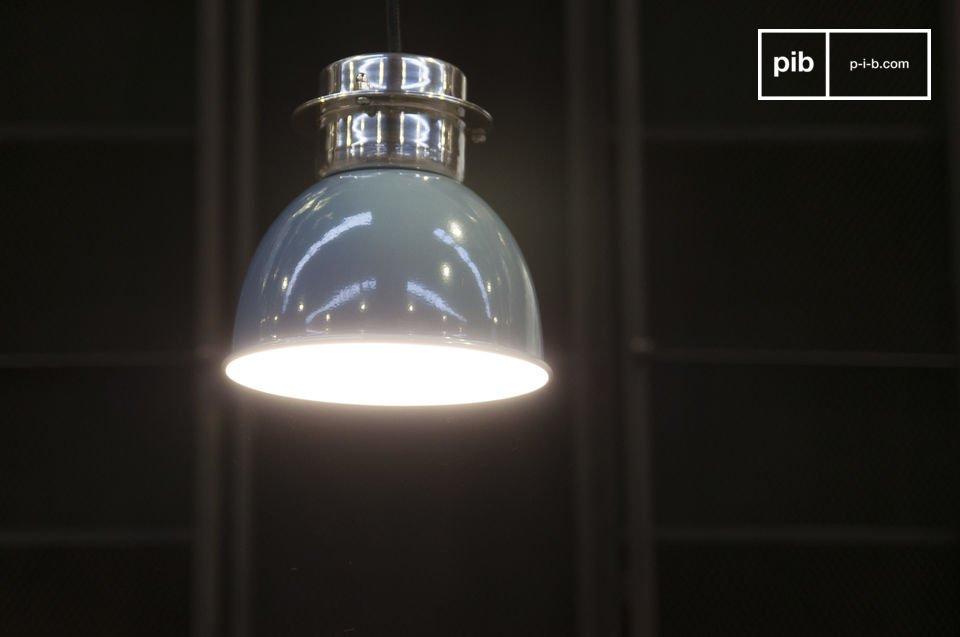 Pequeña lámpara retro 100% de metal