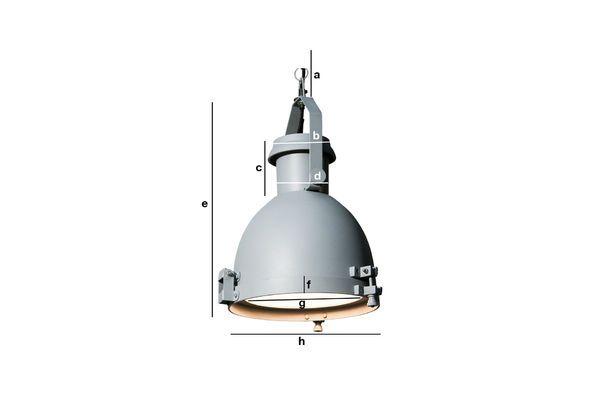 Dimensiones del producto Lámpara colgante Gran Spitzmüller