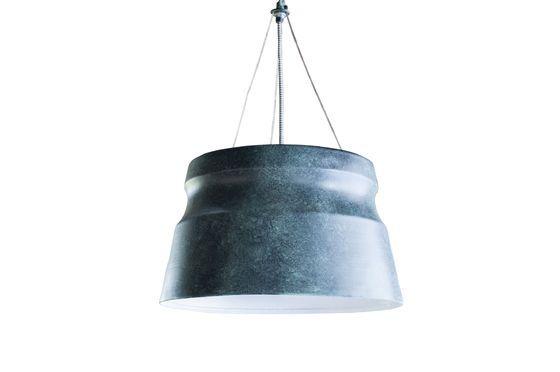 Lámpara colgante grande Borajupe Clipped