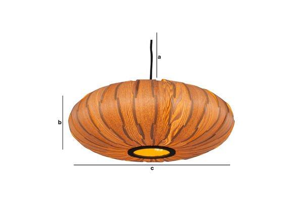 Dimensiones del producto Lámpara colgante Gresskar