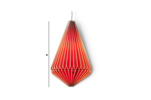 Dimensiones del producto Lámpara colgante Hippy larga