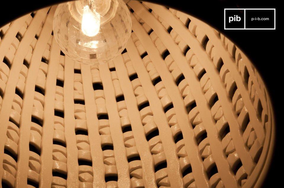 Llévese una lámpara sobria y original al mismo tiempo