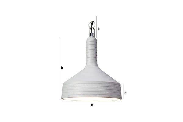 Dimensiones del producto Lámpara colgante Nadok