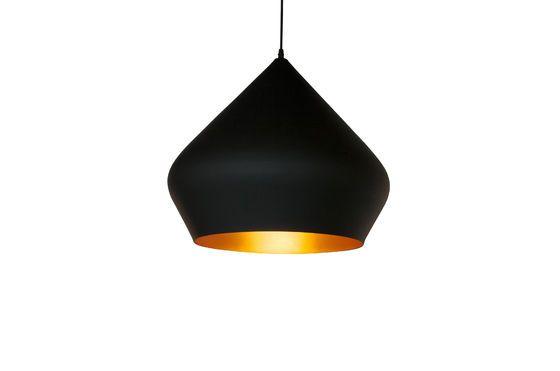 Lámpara colgante negra Liselotte Clipped