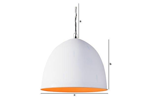 Dimensiones del producto Lámpara Colgante Nölia White