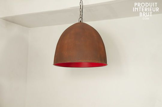 Lampara colgante Raspberry Steel