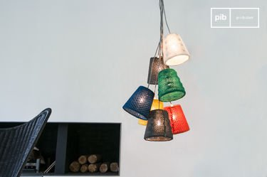 Lámpara colgante Schevä