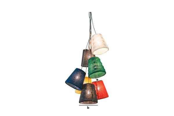Dimensiones del producto Lámpara colgante Schevä