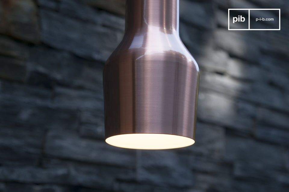 La lámpara de suspensión Segal es un ejemplo perfecto del diseño escandinavo vintage