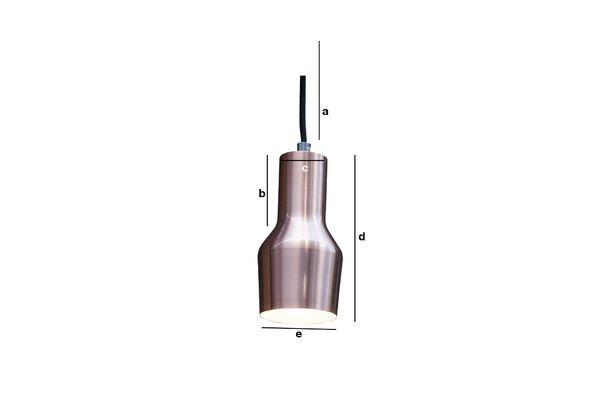 Dimensiones del producto Lámpara colgante Segal