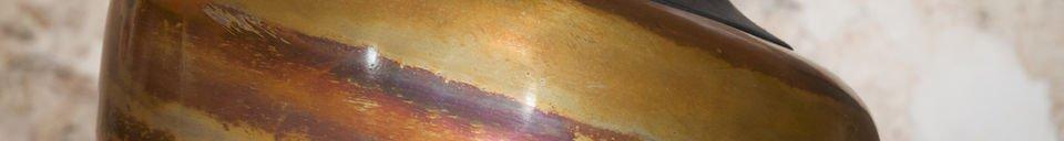 Descriptivo Materiales  Lámpara colgante Skaal