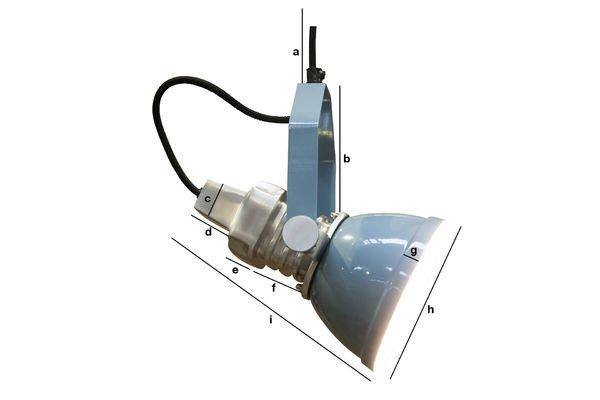 Dimensiones del producto Lámpara colgante Sogelys