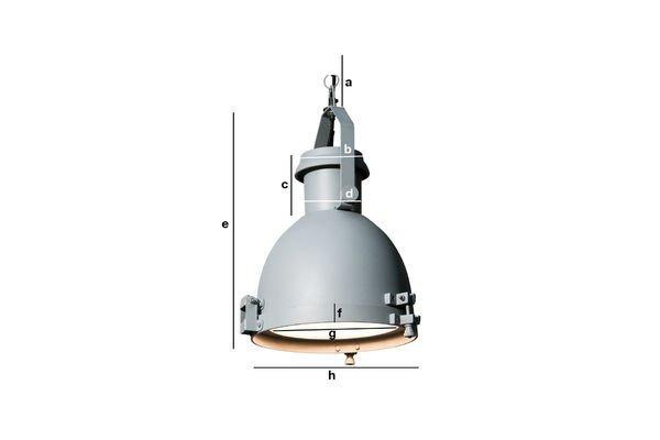 Dimensiones del producto Lámpara colgante Spitzmüller