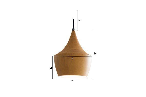 Dimensiones del producto Lámpara colgante Svéa