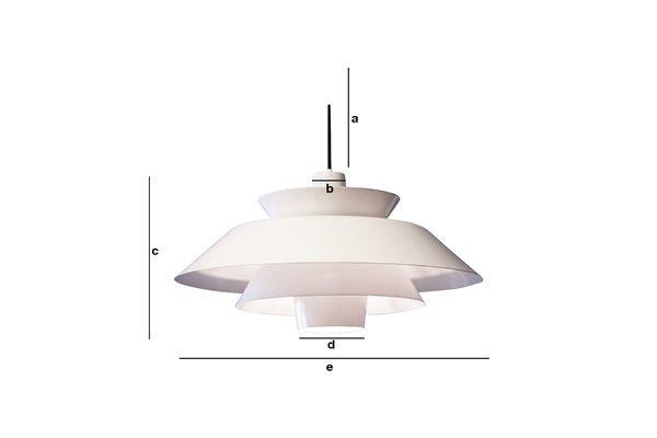 Dimensiones del producto Lámpara colgante Trebäl
