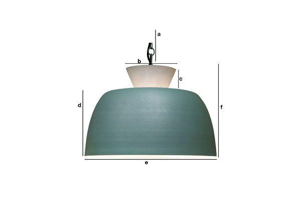 Dimensiones del producto Lámpara colgante Zermatt