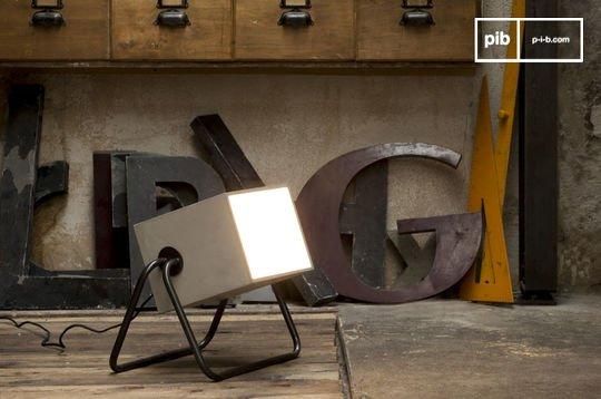 Lámpara Concrete Box