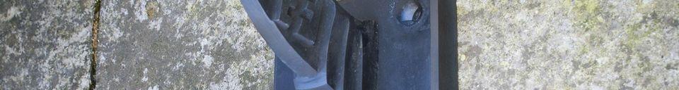 Descriptivo Materiales  Lámpara de almacén cuello de cisne