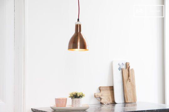Lámpara de cobre Bidart