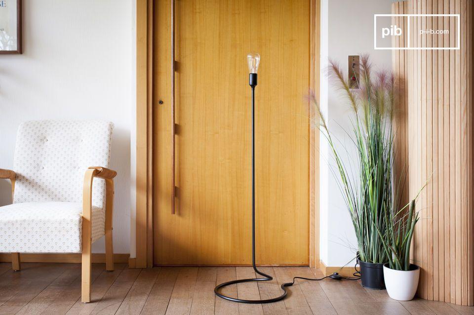 Una luz de lectura equilibrada con un elegante minimalismo