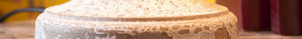 Descriptivo Materiales  Lámpara de madera Alix