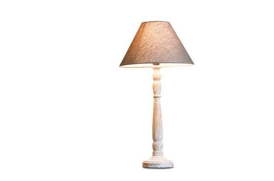 Lámpara de madera Alix Clipped