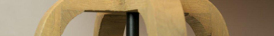 Descriptivo Materiales  Lámpara de mesa de Andersen