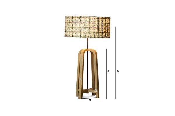 Dimensiones del producto Lámpara de mesa de Andersen
