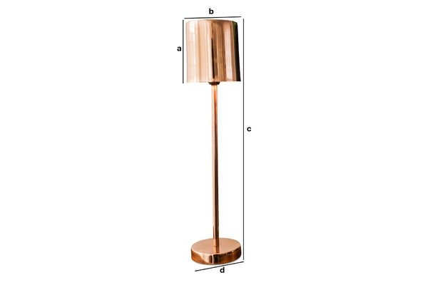 Dimensiones del producto Lámpara de mesa Gryde