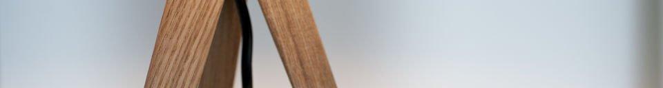 Descriptivo Materiales  Lámpara de mesa Kavinskï